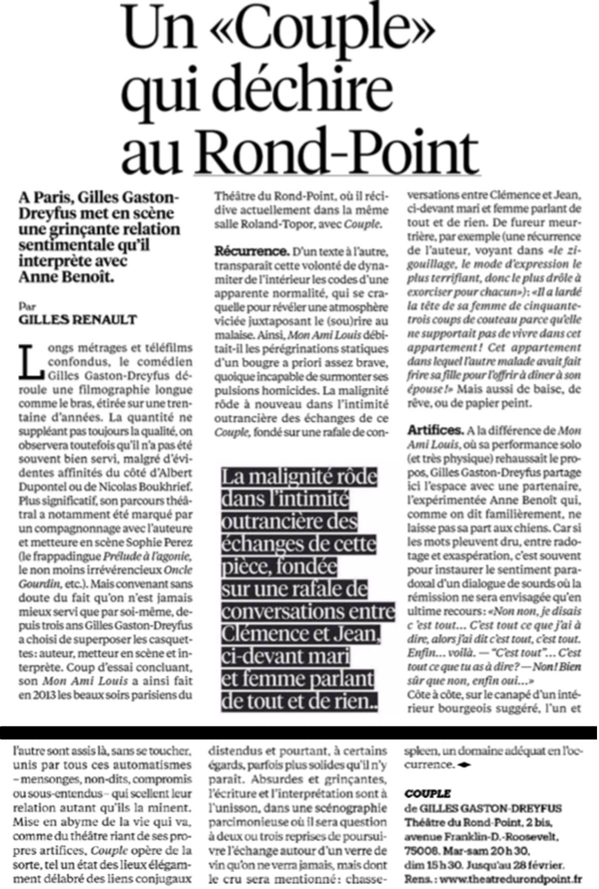 Couple Libération février 2016